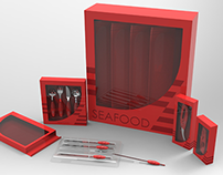 Seafood Cutlery - International ZepArt 2013 Contest