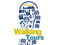 New Orleans Walking Tours Logo Design