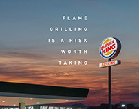 Burger King / Gas Stations / Print and Outdoor