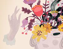 Mrs Dalloway cover illustration