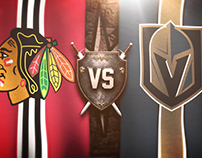 NHL Vegas Golden Knights: In-Game Motion Graphics