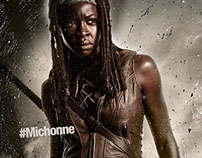 Walking Dead Character Posters