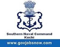 Latest Southern NAVAL Command (KOCHI) - Recruitment Not