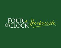 Four O'Clock Herboriste - identité, emballage