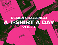 'T-Shirt a Day' Vol. 1 - Design Challenge