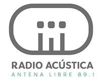 Identidad Radio Acústica Antena Libre - Branding