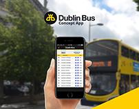 Dublin Bus - Concept App