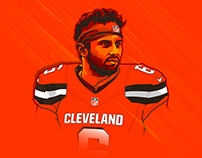Baker Mayfield - Illustration