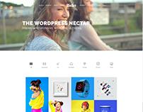 Portfolio 4 Columns Page - Nectar WordPress Theme