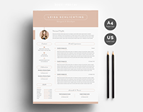 Modern Resume/CV 3-Pages