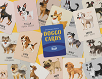 Doggo Cards — Card Game Design and Illustration