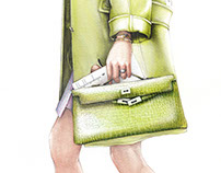 Fashion llustration - Dubai