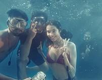Spawake Mermaid Video Shoot