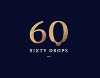 Sixty Drops Branding and Wine Label