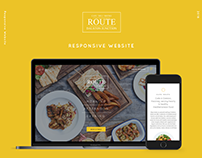 Cafe Route Web Design