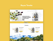Beyaz Teneke Website Design and Development