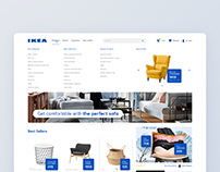 IKEA - concept of a new refreshed website