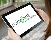 Micronet Computer Logo Design