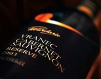 Povardarie Reserve - Luxurious wine label design