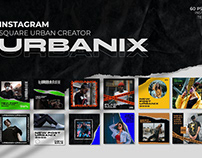 Urbanix - Istagram Template
