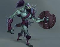 Zombie Orc