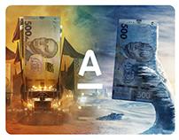 AlfaBank Cash —Prints