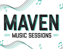 Maven Music Sessions Logo