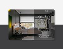 Daily UI #021: Home Monitoring Dashboard