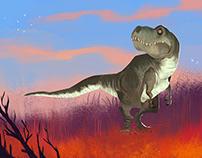 When i meet a dinosaur#4