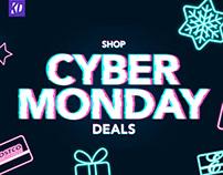 Cyber Monday Banner Concept - Costco.com