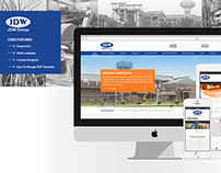 JDW Group - Website Design