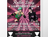 Tri-City Roller Derby - Event Posters