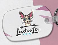 Логотип и анимация лого для LadaLee