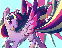 Rainbow Power Ponies