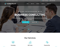 Website for Danish Business Consultancy company