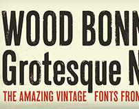 Font: Wood Bonnet Grotesque No. 4