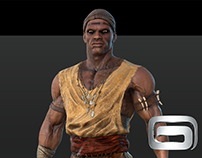 Gods of Rome - Massinissa - Early concept