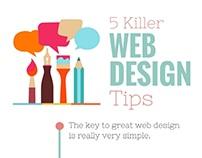 Websetters - 5 Killer Web Design Tips