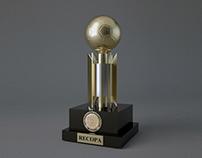 Recopa Sudamericana Trophy - 3D Model