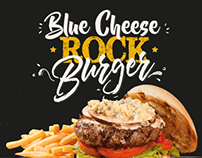 Blue Cheese Rock Burger