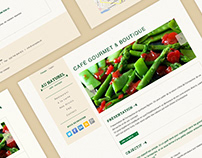 Au Naturel - Web Design