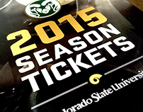 2015 Colorado State Season Ticket Book