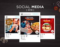 Recanto da Pizza - Mídias Sociais