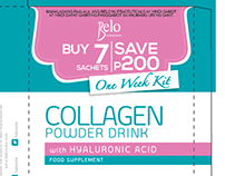 Belo Collagen Kit Packaging