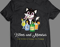 Kittens T-Shirt Design Bundle