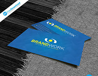 Blue Business Card Free Psd Design
