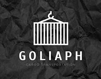 Логотип транспортной компании «GOLIAPH»