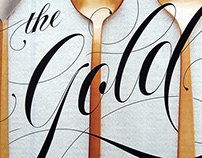 Lettering for Bon Appétit Magazine