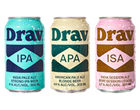 Drav - Brand Identity, Packaging, Creative Direction