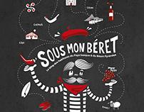 SOUS MON BERET / Illustration pour www.sousmonberet.com